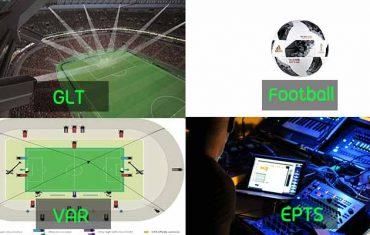 เทคโนโลยี กีฬาที่ใช้ในมหกรรมกีฬาฟุตบอลโลก 2018